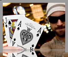 Blackjack Kaarten AJ Schoppen